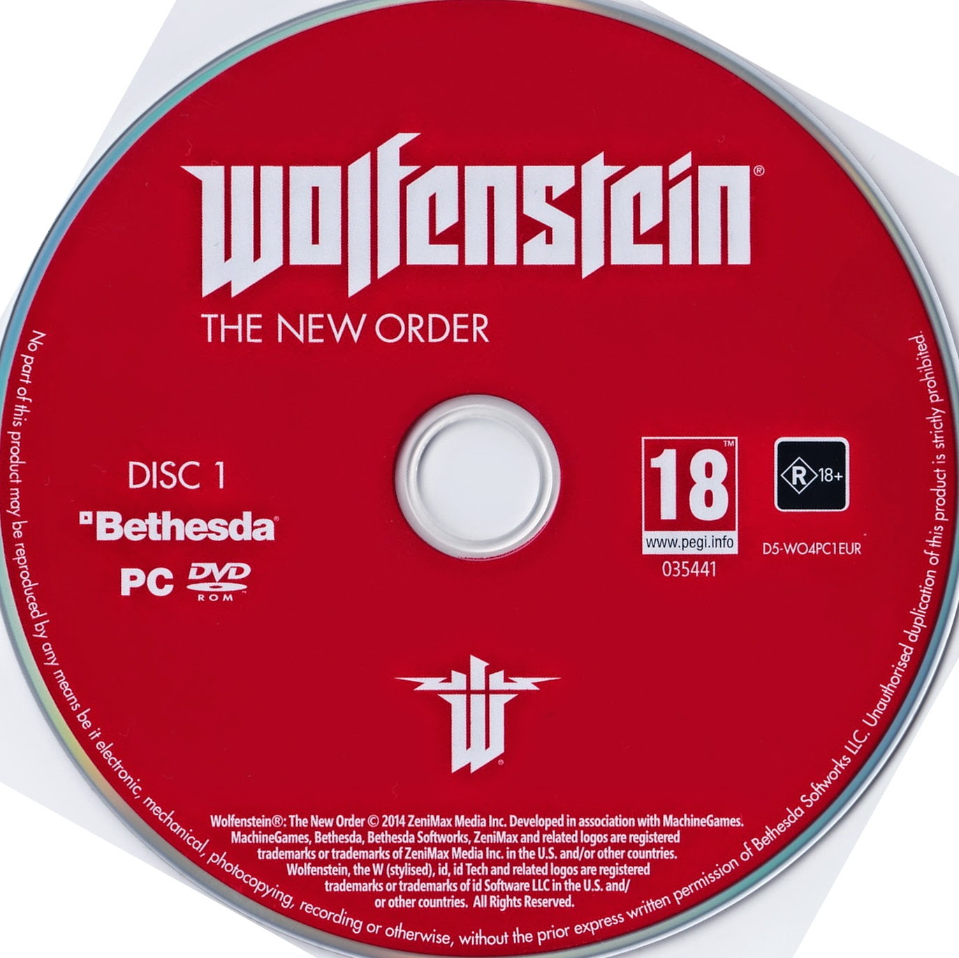 Powerslide Pc Game: Wolfenstein – The New Order (2014 Cover)