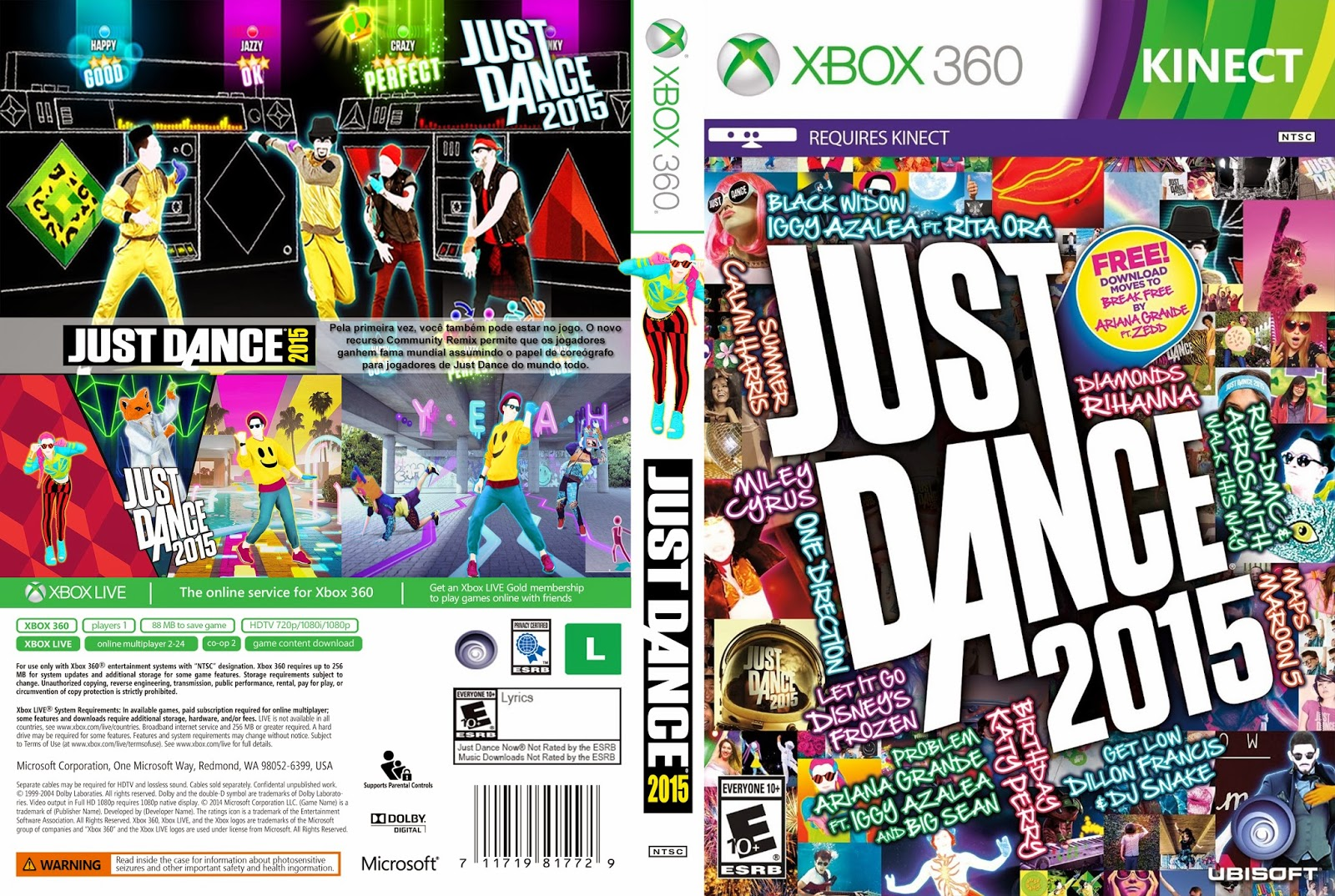 Just Dance Game For Xbox 360 : Just dance xbox gigain games